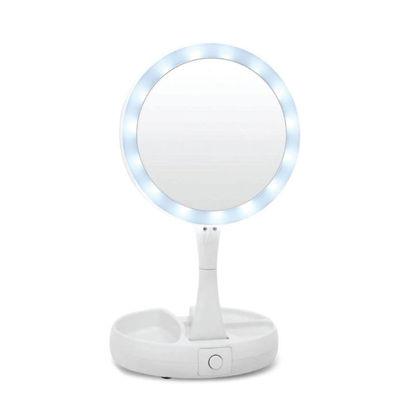 Εικόνα της Καθρέφτης 13983 Grundig Με Φωτισμό 14Led Αναδιπλούμενος Λευκός