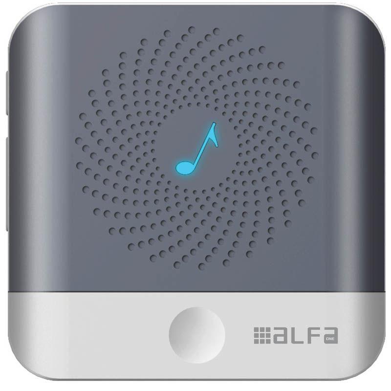 Εικόνα της Κουδούνι ασύρματο ALDB-71002 Alfaone  Ρεύματος 200m Εμβέλεια Λευ
