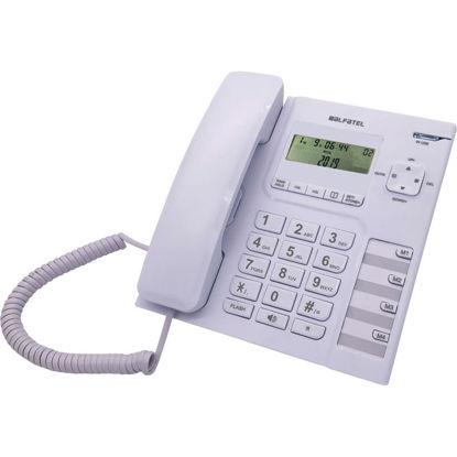 Εικόνα της Τηλέφωνο  Επιτραπέζιο ALFATEL 1308 Λευκό