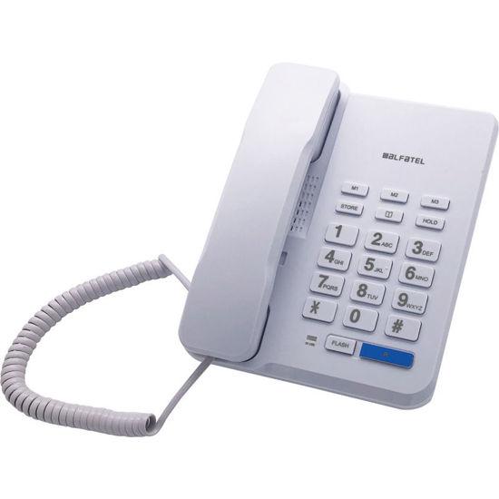 Εικόνα της Τηλέφωνο  Επιτραπέζιο ALFATEL 1310 Λευκό