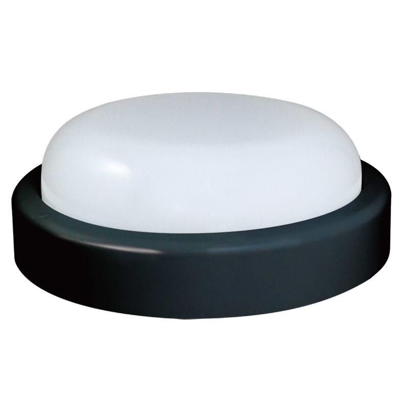 Εικόνα της Φωτιστικό B74320 Sunfos LED Στρογγυλό 20W 1600Lm 6500K Εξωτερικών χώρων IP54 Μαύρο