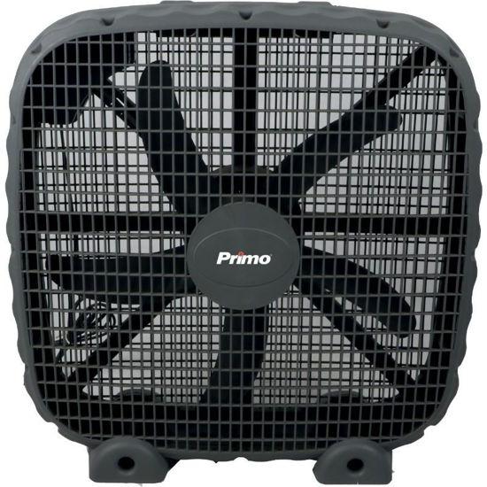 """Εικόνα της Ανεμιστήρας Box Fan 16"""" 40CM KYT-50 Primo Μαύρος Τετράγωνος (18.414)"""