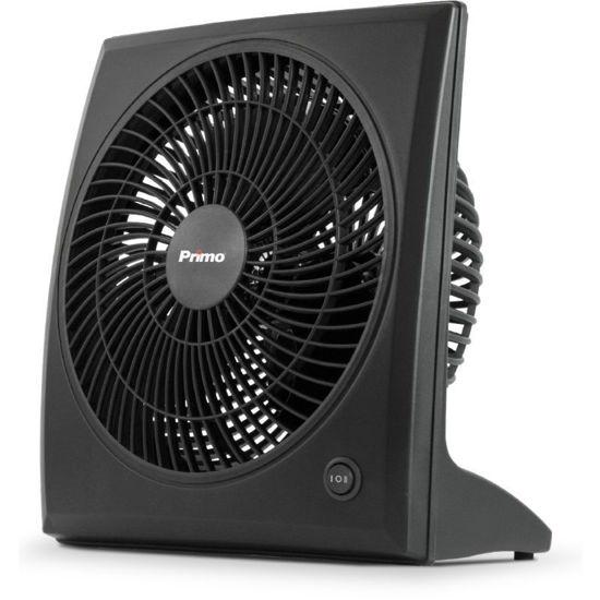 Εικόνα της Ανεμιστήρας Box Fan 9'' 23CM 15729  Primo Μαύρος