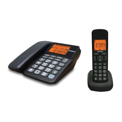 Εικόνα της Τηλέφωνο Ασύρματο COMBO  UNIDEN AT-4503 Μαύρο