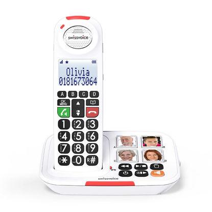 Εικόνα της Τηλέφωνο  Ασύρματο DUO SWISSVOICE Xtra 2155 Λευκό
