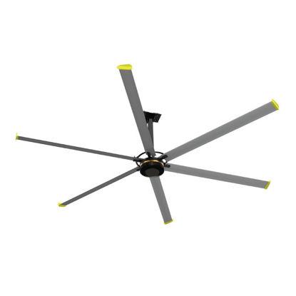 Εικόνα της Ανεμιστήρας Οροφής HVLS-D4AAA73 Primo Boreas III Βιομηχανικός 1300W 2200V AC Φτερά 6X7,3 Mέτρα