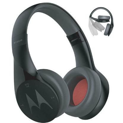 Εικόνα της Ακουστικά Ασύρματα Motorola Pulse Escape Μαύρα