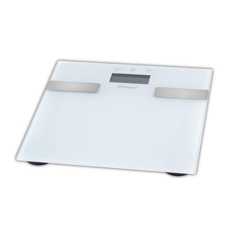 Εικόνα της Ζυγαριά Σώματος Λιπομετρητής PRBS-40331 Primo 180Kg Υάλινη Λευκή-Inox
