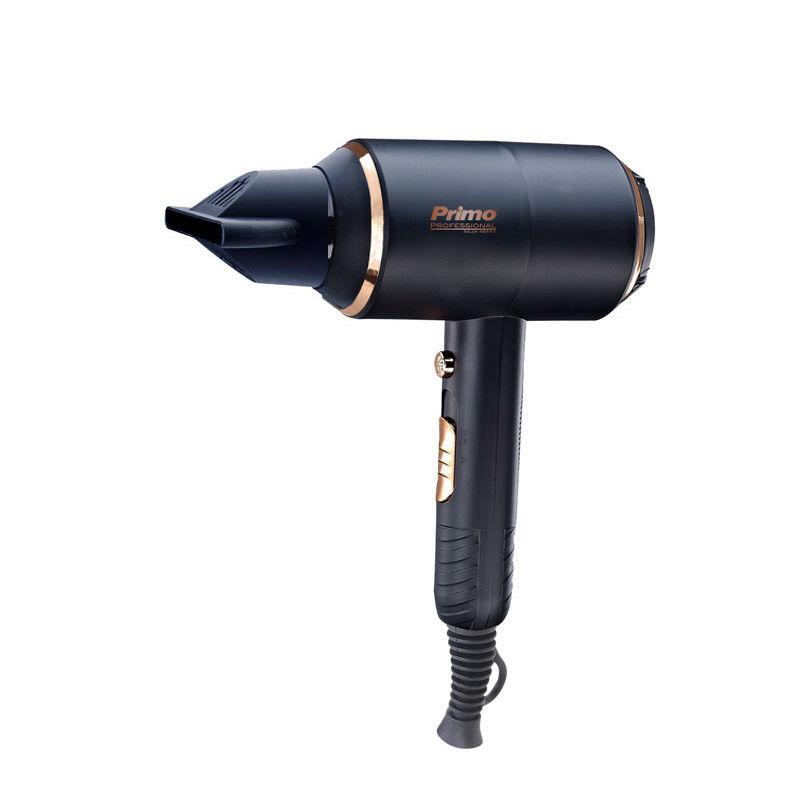 """Εικόνα της Σεσουάρ PRHD-40292 Primo """"Professional Salon series"""" 2000W AC Με Ιονιστή & Κρύο Αέρα Μαύρο matt-Rose gold"""