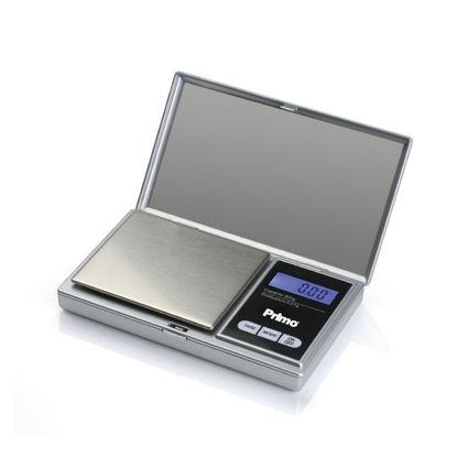 Εικόνα της Ζυγαριά Ακριβείας PRJS-40335 Primo Ψηφιακή 500g-0.01g Φωτιζόμενη οθόνη Silver