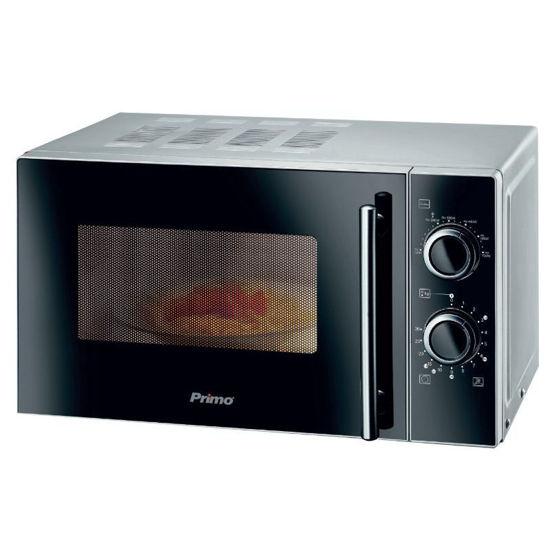 Εικόνα της Φούρνος μικροκυμάτων PRMW-40247 Primo 20L 700W Yάλινη πρόσοψη Μαύρος-Silver