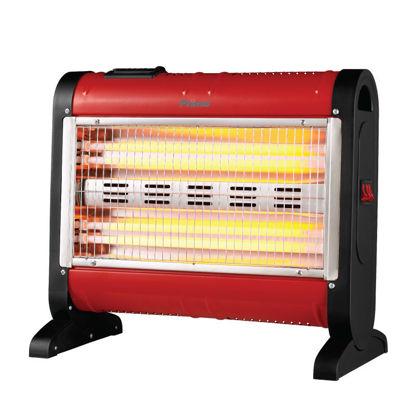 Εικόνα της Θερμάστρα Χαλαζία PRQH-81050 Primo Κόκκινη 1600W