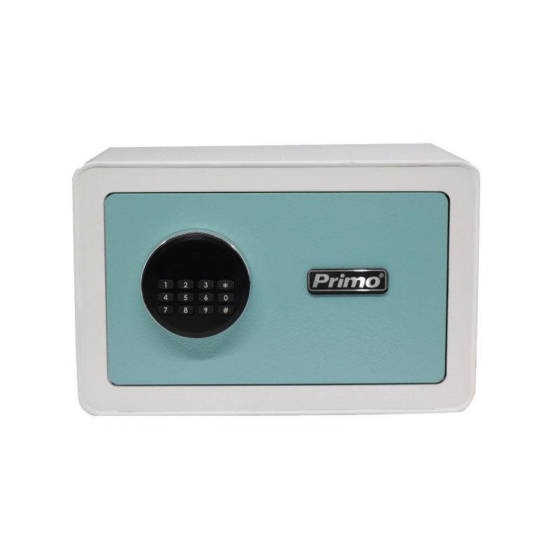 Εικόνα της Χρηματοκιβώτιο PRSB-50031 Primo Ηλεκτρονικό Οθόνη LCD 20Χ31Χ20εκ. Λευκό-Βεραμάν