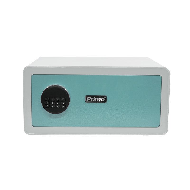 Εικόνα της Χρηματοκιβώτιο PRSB-50035 Primo Ηλεκτρονικό Οθόνη LCD 20Χ42Χ37εκ. Λευκό-Βεραμάν