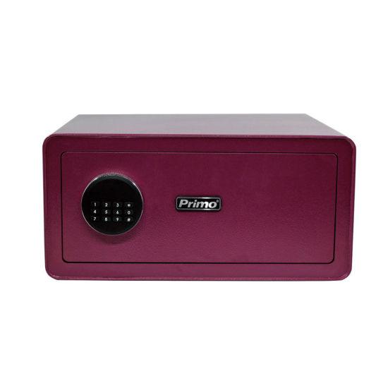 Εικόνα της Χρηματοκιβώτιο PRSB-50036 Primo Ηλεκτρονικό Οθόνη LCD 20Χ42Χ37εκ. Μελιτζανί