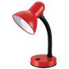 Εικόνα της Φωτιστικό Γραφείου QM2028-2 Sunfos Μεταλλικό E27 40W Κόκκινο