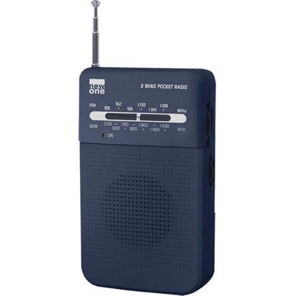 Εικόνα της Ραδιόφωνο Τσέπης R206 NEWONE Μπαταρίας Αναλογικό