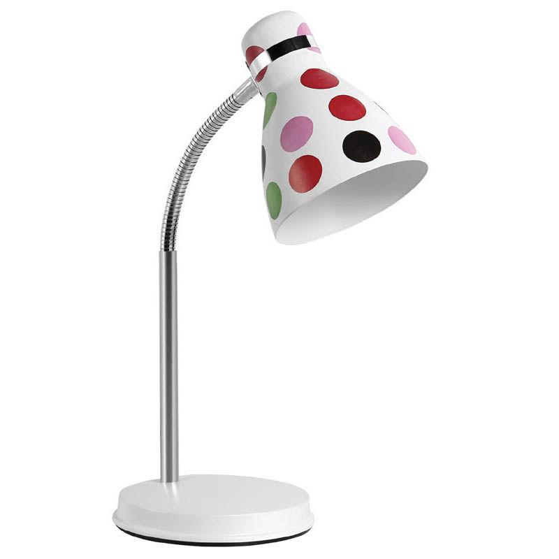 Εικόνα της Φωτιστικό Γραφείου SUDL-30131 Sunfos Μεταλλικό E27 40W Λευκό-Πουά Colors