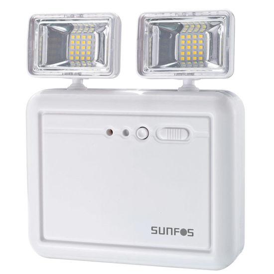Εικόνα της Φωτιστικό Ασφαλείας SUEL-30146 Sunfos 40Led Μπαταρία λιθίου 3.7V 2.2Ah Λευκό