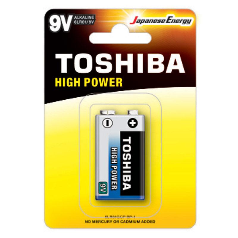 Εικόνα της Μπαταρία TOSHIBA 9V - 6LR61GCP BP-1