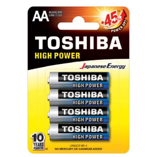 Εικόνα της Μπαταρία TOSHIBA AA - LR6GCP BP-4