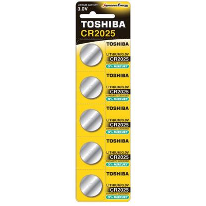 Εικόνα της Μπαταρία TOSHIBA CR2025 - BP-5