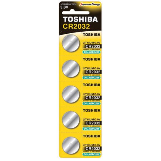 Εικόνα της Μπαταρία TOSHIBA CR2032 - BP-5