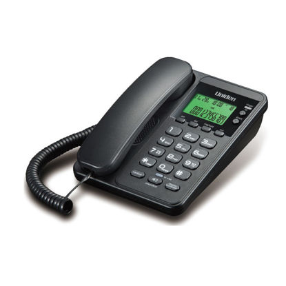 Εικόνα της Τηλέφωνο  Επιτραπέζιο  με οθόνη UNIDEN AS6404 Μαύρο