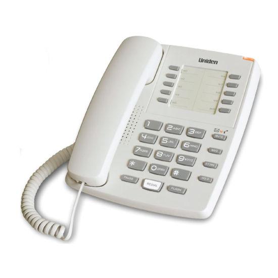 Εικόνα της Τηλέφωνο  Επιτραπέζιο UNIDEN AS7201 Λευκό
