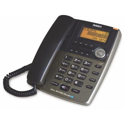 Εικόνα της Τηλέφωνο  Επιτραπέζιο  με οθόνη UNIDEN AS7403 Τιτάνιο