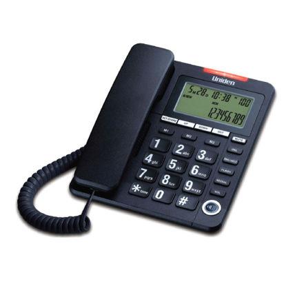 Εικόνα της Τηλέφωνο  Επιτραπέζιο  με οθόνη UNIDEN AS7408 Μαύρο