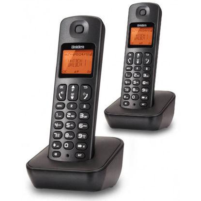 Εικόνα της Τηλέφωνο Ασύρματο UNIDEN AT-3100-2 Μαύρο