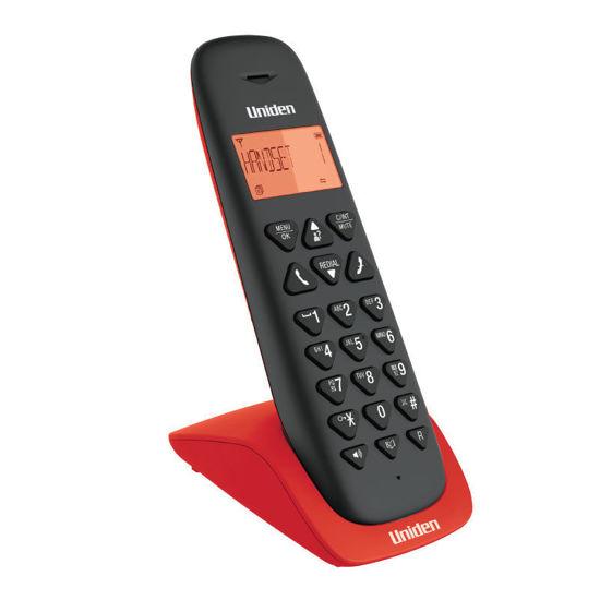 Τηλέφωνο Ασύρματο UNIDEN AT-3102 Μαύρο-Κόκκινο