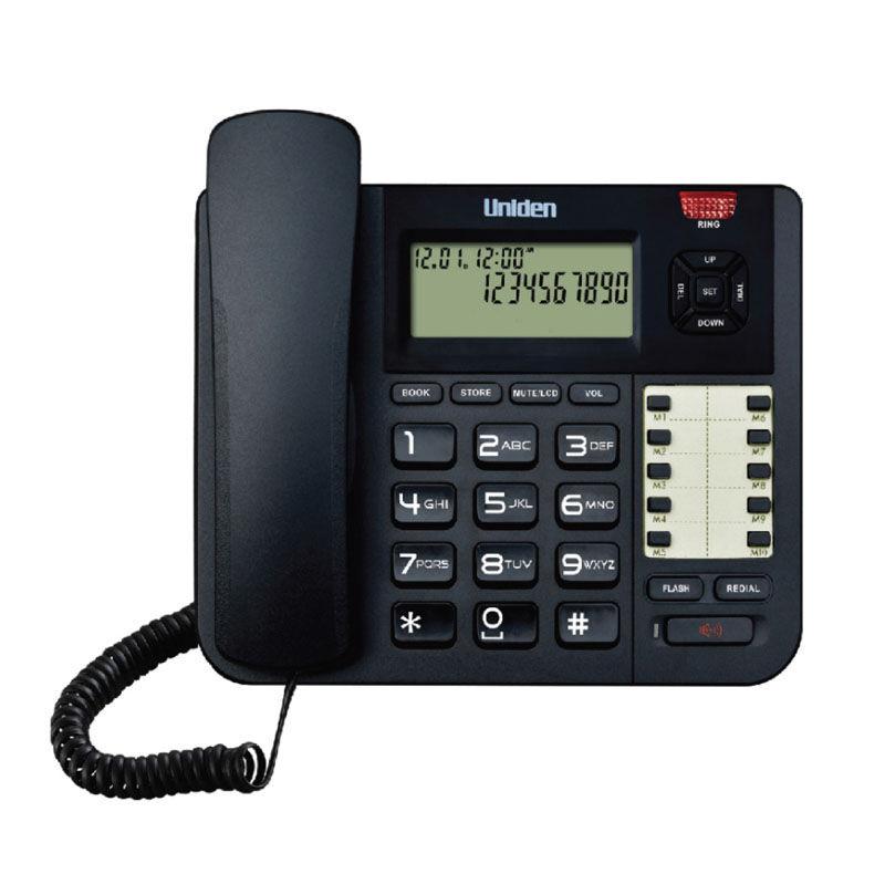 Εικόνα της Τηλέφωνο  Επιτραπέζιο UNIDEN AT8501 Μαύρο