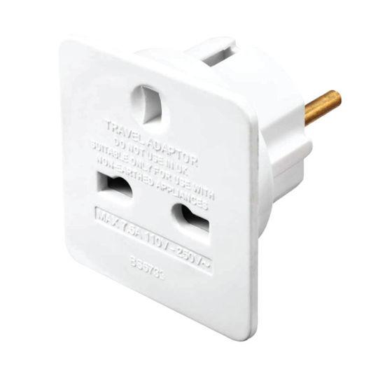 Εικόνα της Adaptor ALTA 70115 Alfaone Travel Σούκο-UK  Λευκός