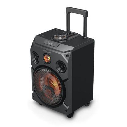 Εικόνα της Party Box Bluetooth-Ραδιόφωνο Με Μικρόφωνο M-1915DJ MUSE
